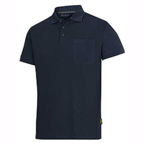 Snickers Classic Polo Shirt Navy Size: XS