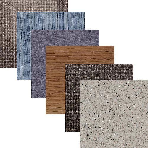 Square Acoustic Loose Lay Vinyl Tiles