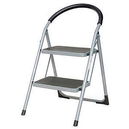 Step Ladder Folding Step Stool 2 Tread White Height 0.49m 359293