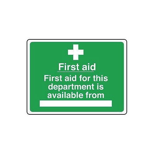 Aluminium Safe Condition And First Aid Sign First Aid For This Department Is Available