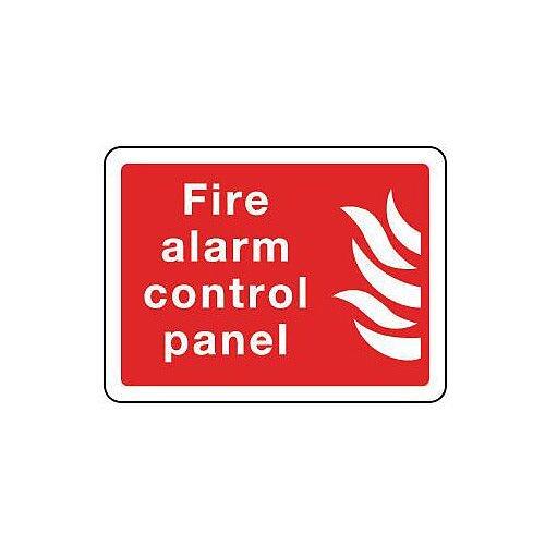 Aluminium Fire Alarm Control Panel Sign