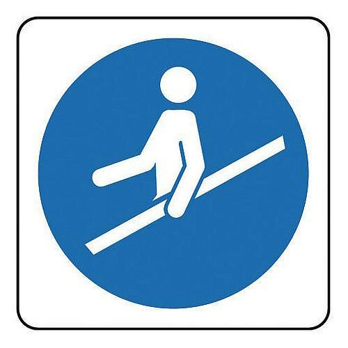 Rigid PVC Plastic Escalators And Passenger Conveyors Sign Escalator Pictorial
