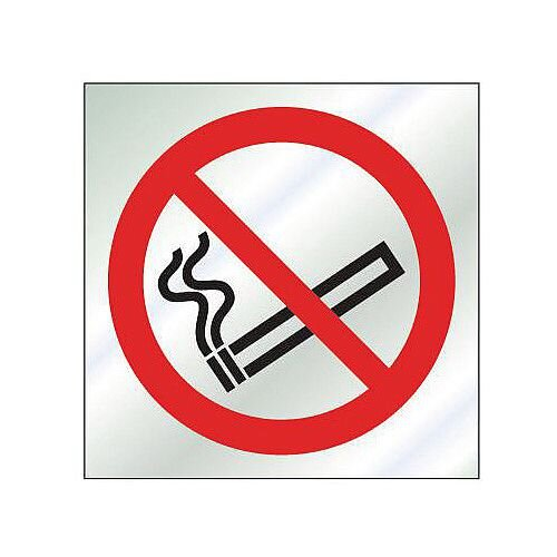 Brass Prestige Sign No Smoking