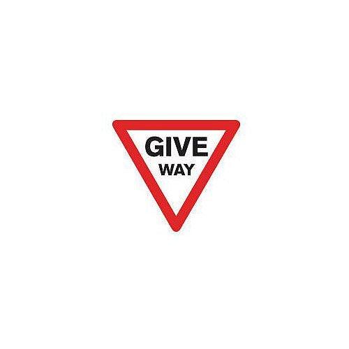 Regulatory Traffic Sign Give Way Class 1