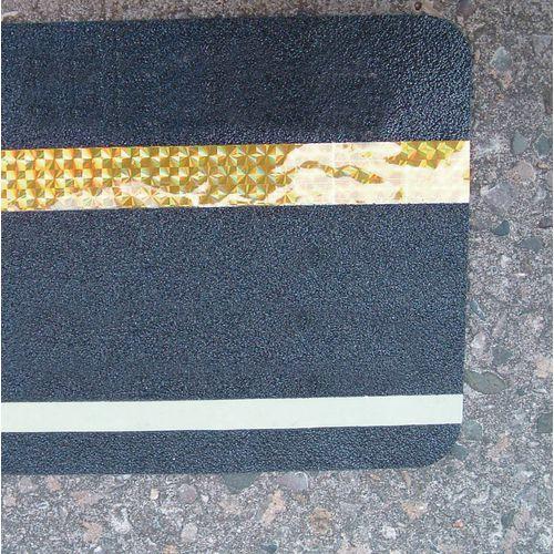 Hazard Warning Tape Multi Warning Glow In The Dark And Reflective Stripe 150 x 610mm Pack 10