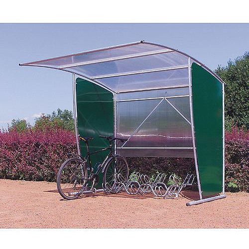 Economy Modular Cycle Shelter Extension Unit Only