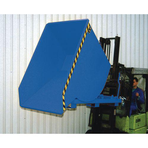 Heavy Duty Roll Forward Skip Blue Capacity 1500kg SY311405