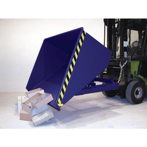 Universal Roll Forward Skip 1500kg Blue SY315528