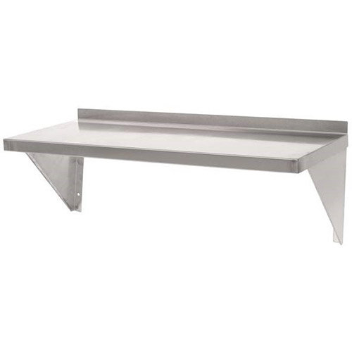 Stainless Steel Wall Shelf L 1800mm