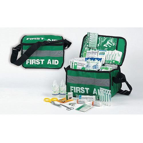 Haversack First Aid Kit Water Resistant Complete Kit Up to 10 Person