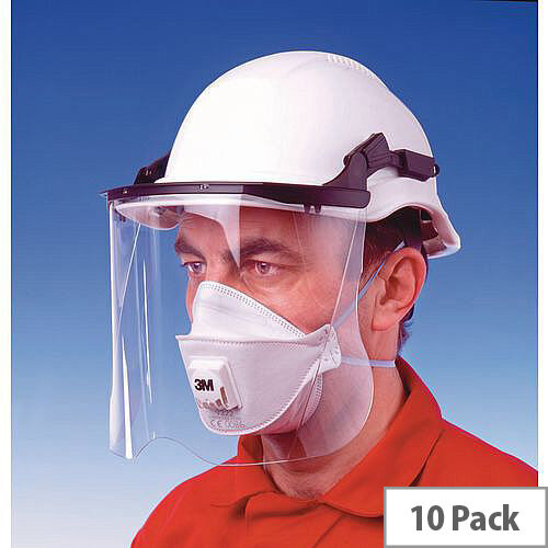 P2 Comfort Plus Disposable Masks Comfort Plus Foldable Dust &Mist Valved Pack of 10