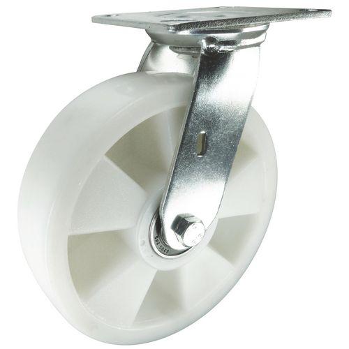 Nylon Wheel, Medium Duty - Swivel Load Capacity 365kg