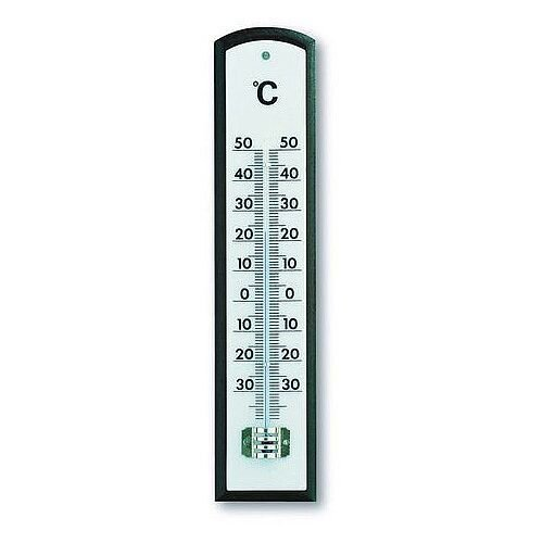 Indoor Thermometer White Plastic