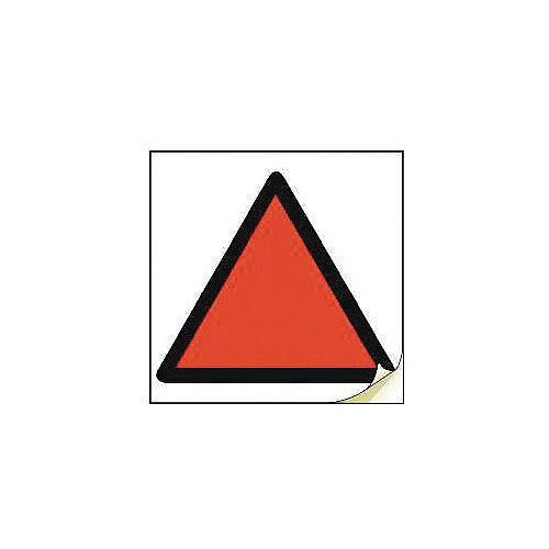 Hand Arm Vibration Safety Labels Red Triangle Strip Of 50