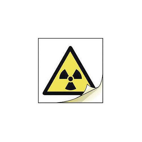 General Safety Labels Radiation Roll of 50