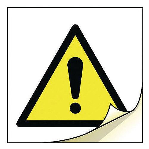 General Safety Labels General Warning Roll of 100