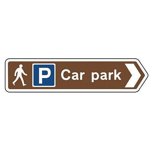 Countryside and agriculture signs - Car park