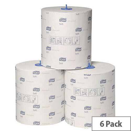 Tork Hand Towel Rolls 2 ply White 625 Towels per Roll