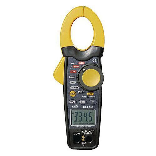 1000A Ac Clamp Meter Ac Reader