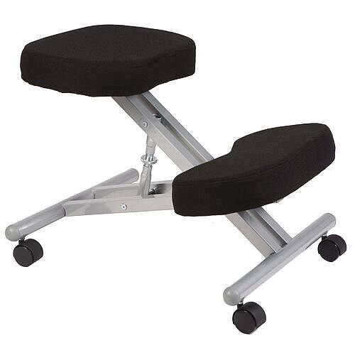 Posture Kneeling Chair With Steel Frame &Black Seat