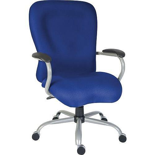 Titan 24 Hour Extra Large Heavy Duty Office Chair Blue