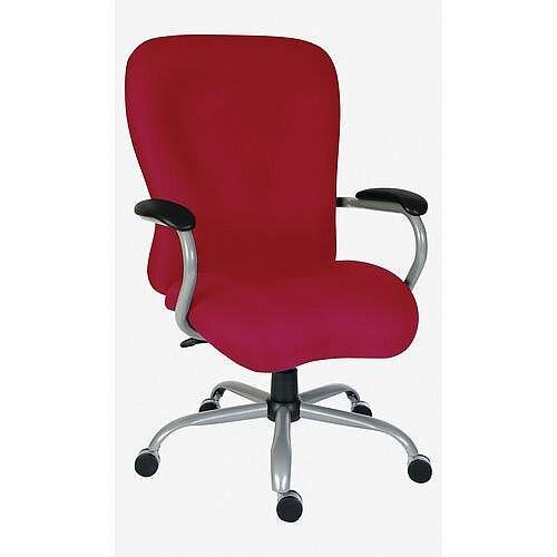 Titan 24 Hour Extra Large Heavy Duty Office Chair Burgundy