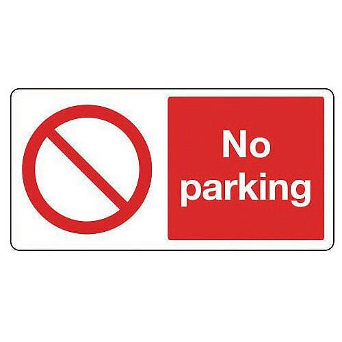 Large Sign No Parking 1220 x 2440mm