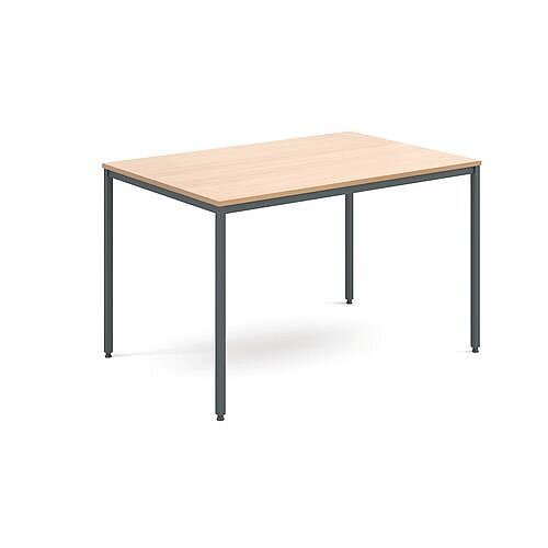 General Purpose Table Beech Rectangular Beech 1200X800X725mm