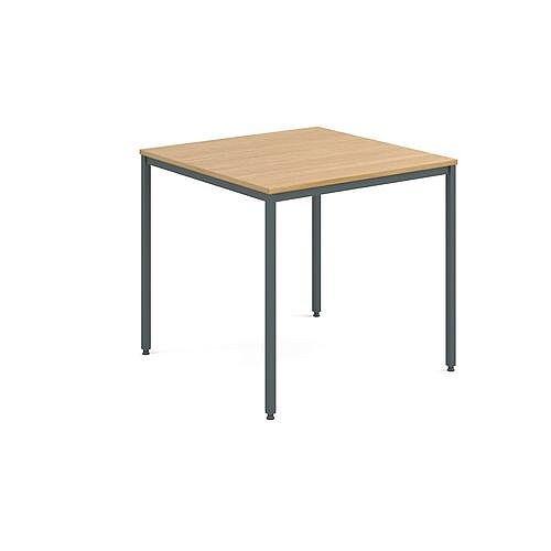 General Purpose Table Square Square Oak 800X800X725mm