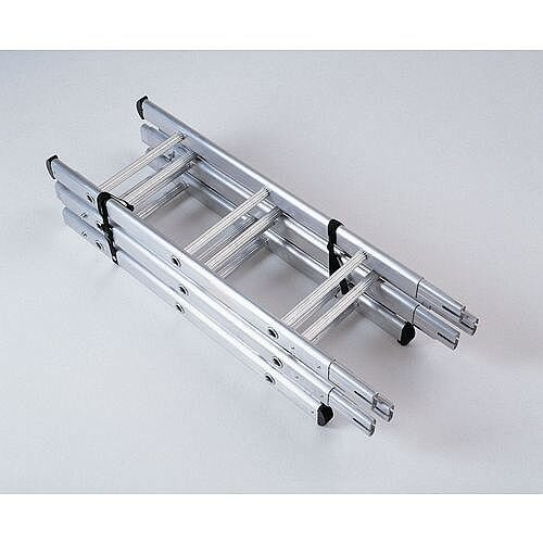 Surveyors Ladder Choice Of 4 Heights Length 2.75M 3 Sections