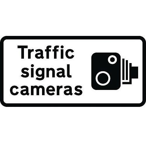 Speed Camera Sign Traffic Signal Cameras Class 2