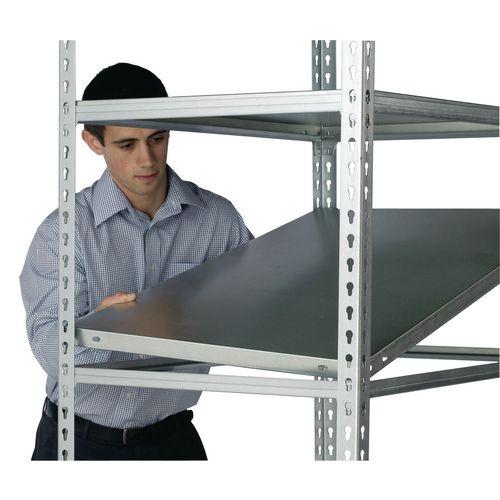 Standard Duty Galvanised Boltless Shelving Additional Shelf WxDmm 900x600