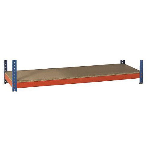 Extra Shelf For 1800mm Wide 450mm Deep Heavy Duty Boltless Chipboard Shelving 600Kg Capacity For SY379221 &SY379231