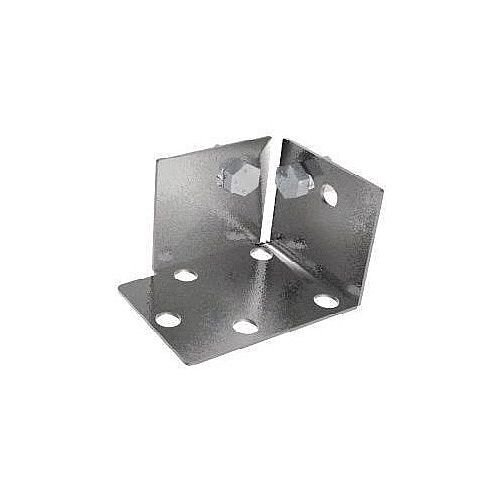 Galvanised Steel Foot Plates For Standard Duty Boltless Steel Shelving