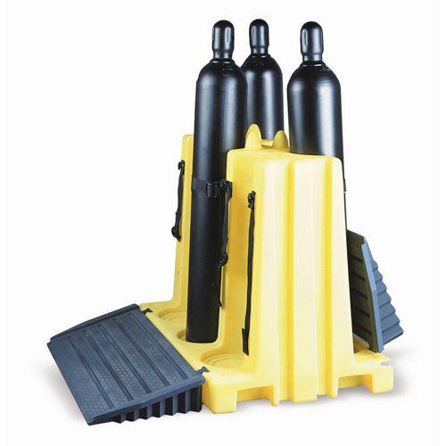 6 Cylinder Polyethylene Rack Capacity 540kg