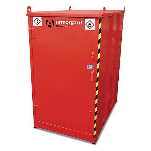 Walk in Hazardous Storage Container WxD 1800x1200x1200mm 310KG