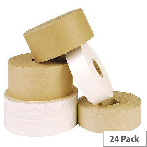 Gummed Paper Tape W48xL200m Pack of 24