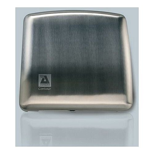 AIRDRI Automatic Low Noise Hand Drier 1700W Brushed Stainless Steel Finish