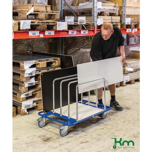 Medium Duty Board Trolley Capacity 150kg LxWxH 1000x700x690mm
