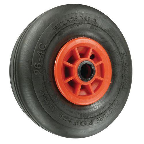 Puncture Proof Wheels Load Capacity 218kg Plain Bore 25mm Wheel Diameter 380mm