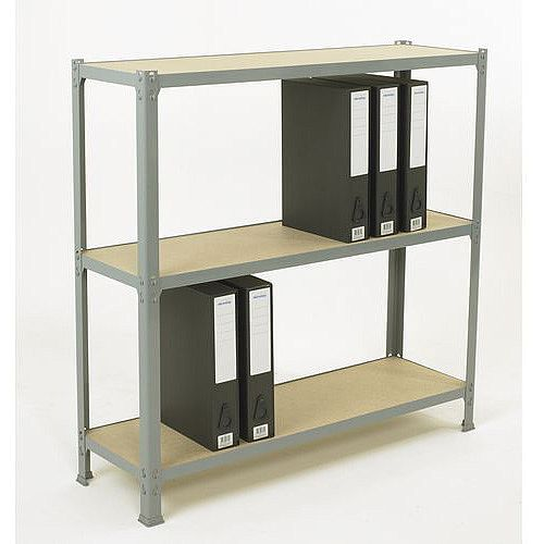 Lever Arch Shelving 1000mm High With 3 Shelves