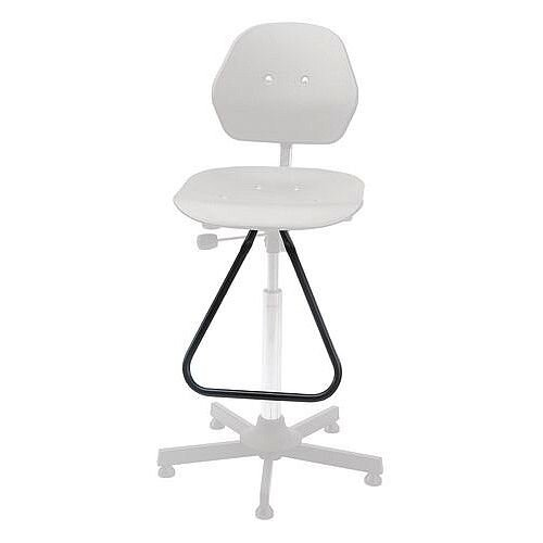 Universal Industrial Chair Accessory Black Height Adjustable Footrest