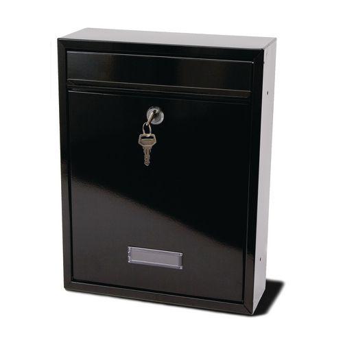 Trent Modular Post Box Black
