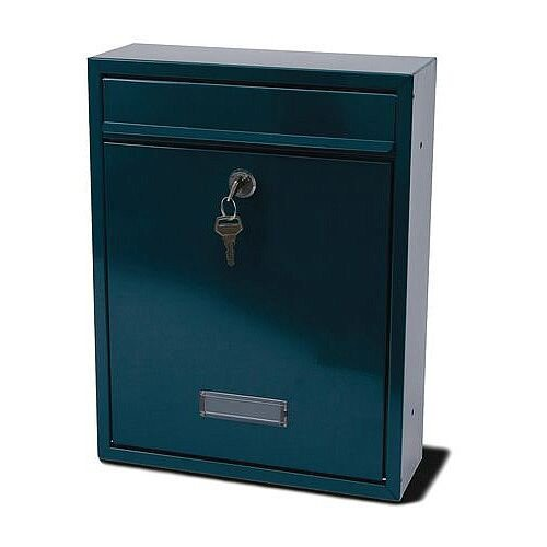 Trent Modular Post Box Green
