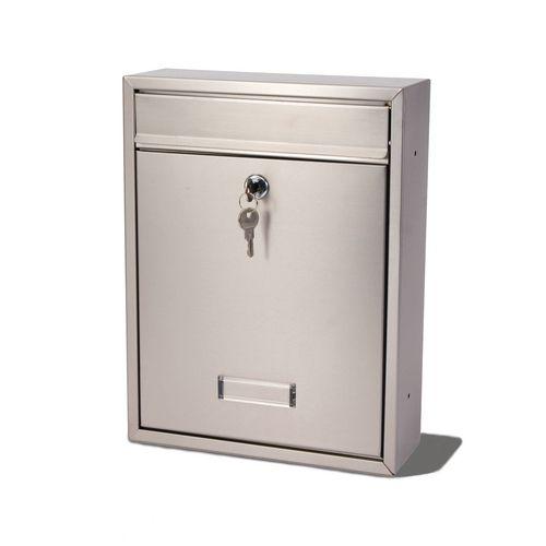 Trent Modular Post Box Stainless Steel