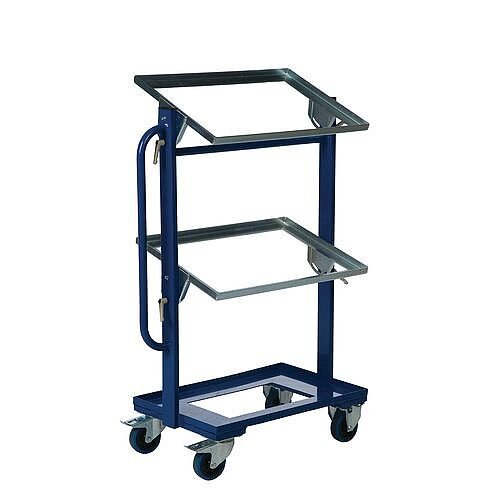 Adjustable Tray Trolley Capacity 150kg