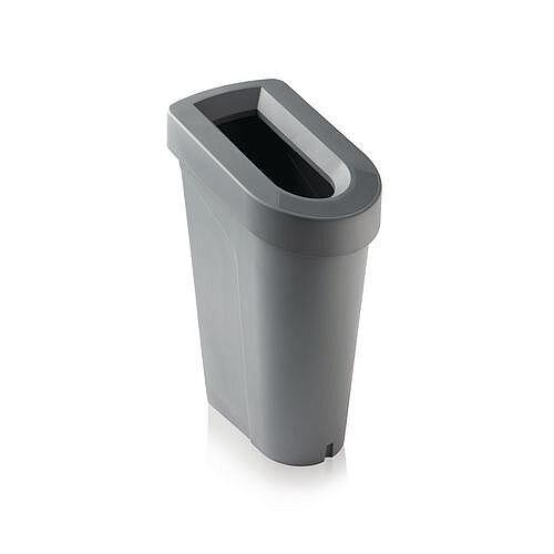 uBin Base Recycling Recycling Waste Bin System 70L Without Lid Grey