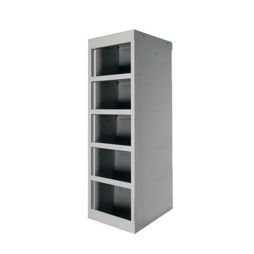 Bench-Top Post Box Locker Without Doors