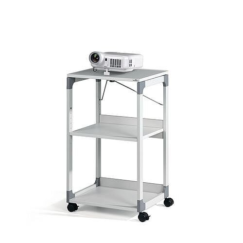 System Overhead Projector Trolley Grey