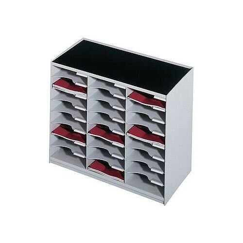 24 Compartment Module Grey Charcoal